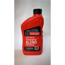 MOTORCRAFT SAE 5W-20 FORD Synthetic Blend Motor Oil  946мл.