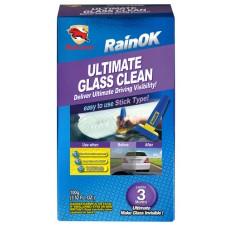 Bullsone RainOk Ultimate Glass Clean Глубокий очиститель стекол (8 обработок) (Корея) 100 мл