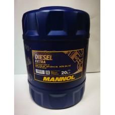 MANNOL Diesel Extra 10w40 20л.