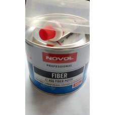 NOVOL 1222 Шпатлевка со стеклянным волокном Fiber 0.6л.
