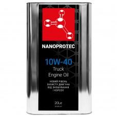 NANOPROTEC Diesel TRUCK Моторное масло 10W-40 20л