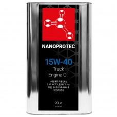 NANOPROTEC 15W-40 TRUCK Моторное масло 20л