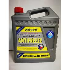 Velvana G13 Антифриз концентрат -80°C желтый, 5л