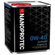 Nanoprotec Engine Oil 0W-40 1л