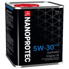 Nanoprotec Engine Oil Синтетическое моторное масло 5W-30 FOD 1л.