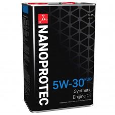 Nanoprotec Engine Oil Синтетическое моторное масло  5W-30 FOD 4л.