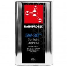 Nanoprotec Engine Oil Синтетическое моторное масло 5W-30 FOD 20л.