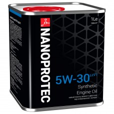 NANOPROTEC Моторное масло 5W-30 LONGLIFE V 1л