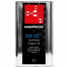 NANOPROTEC Моторное масло 5W-30 LONGLIFE V 20л