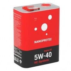 NANOPROTEC 5W-40 HC-SYNTHETIC 4л.