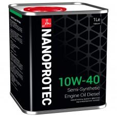 NANOPROTEC DIESEL Моторное масло  10W-40 1л