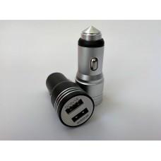 USB-адаптер 2-гнезда металлический корпус PG-251