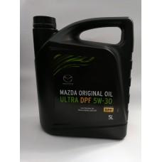 Mazda Original Oil Ultra DPF 5w30 синтетическое моторное масло, 5л.