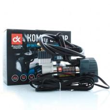 Дорожная карта Автомобильный компрессор 12V, 10Атм, 35л/мин, фонарь LED (DK31-105)