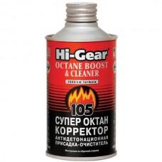 Hi-Gear HG3306 Присадка в бензин Супер октан-корректор 325мл.