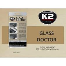 K2 Набор для ремонта стекла GLASS DOCTOR 0.8мл (B350)