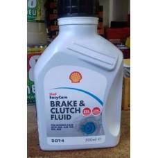 Shell Тормозная жидкость Brake&Clutch fluid DOT4 ESL 500мл