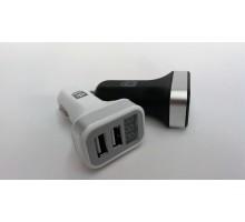 Дорожная карта Автомобильное зарядное устройство+2USB LED-дисплей DK-CT04W