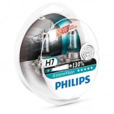 Philips автолампа H7 - X-treme Vision +130% 2шт.