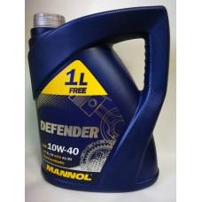 MANNOL Defender SAE 10W-40 A3/B3 5л