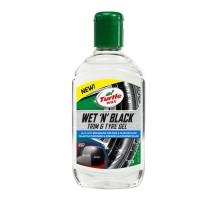 """Turtle Wax Wet """"N"""" Black Trim & Tire Gel 53144 Гель-очиститель для пластика и шин,чернитель резины 300мл"""