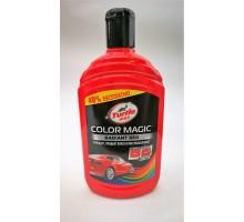 Turtle Wax Color Magic Полироль подкрашивающий Красый 500мл. 15249/53240