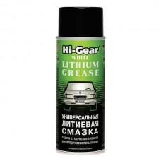 Hi-Gear Универсальная литиевая смазка, аэрозоль HG5503 0.312л.
