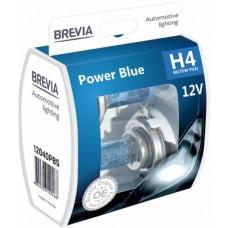 Brevia Power Blue Лампа автомоб. Н4 12V 55/60W (2шт/комп)