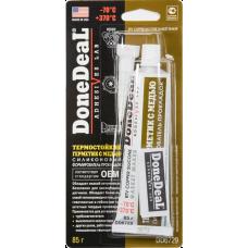 DoneDeal DD6729 Герметик термостойкий силиконовый, медный 85 г