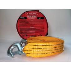 Carlife TR704 Трос буксировочный крюки в сумке 5,5т 6м.