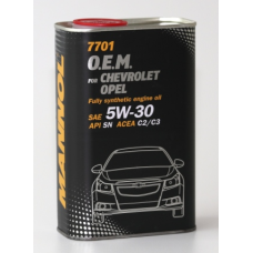 Mannol O.E.M. 7701 METALL for Chevrolet Opel 5w30 1л.