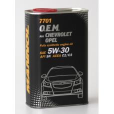 Mannol O.E.M. 7701 METALL for Chevrolet Opel 5w30 1л.