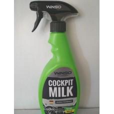 WINSO COCKPIT MILK LEMON Полироль-молочко для панели приборов , 500мл. тригер