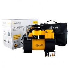Solar Компрессор автомобильный 10 Атм, 40 л/мин. С LED-фонарем AR210