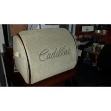 Органайзер в багажник Cadillac, бежевый маленький
