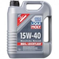 Liqui Moly MoS2 Leichtlauf  Моторное Масло С Молибденом 15W-40, 5л (1933)