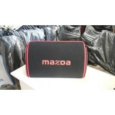 Органайзер в багажник Mazda, черный маленький