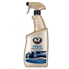 К2 Protectant  POLO Полироль для пластика, 770мл