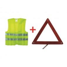 KOTO SFT-401 Жилет + знак аварийный Autoline (набор)