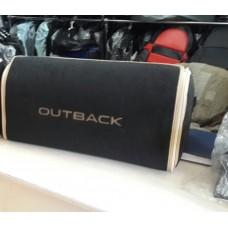 Органайзер в багажник Subaru, черный большой
