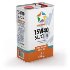 Verylube 15W-40 SL/CI-4, 4л