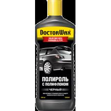 Doctor Wax DW8401 Полироль с полифлоном черный 0,3л.