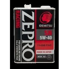 4L ZEPRO RACING 5W-40 SN Fully-Synthetic