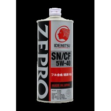 1L ZEPRO EURO SPEC 5W-40 SN/CF Fully-Synthetic