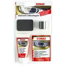 SONAX HeadLight Restoration Kit  Набор для реставрации фар (Германия) 89мл 405941