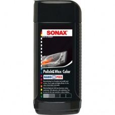 SONAX NanoPro Черный  полироль с воском 250мл  296141