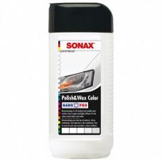 SONAX Nano Pro Поліроль з воском кольоровий білий 0,25л.