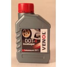 VENOL DOT-4 тормозная жидкость . 0,5л,