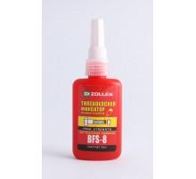 Zollex BFS-8 Фиксатор резьбовых соединений красный 50мл